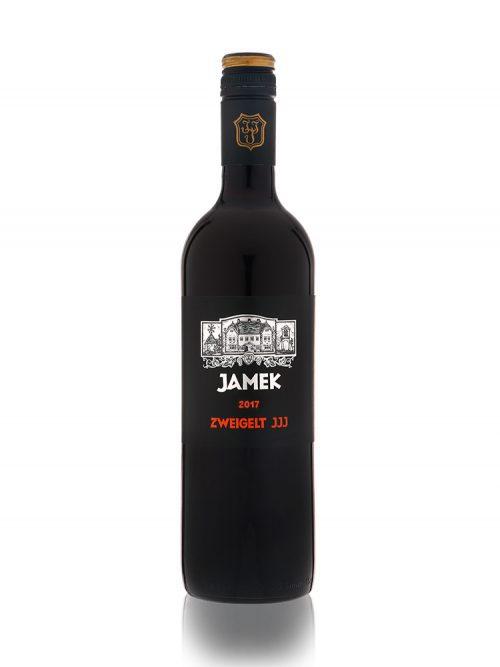 Flasche JAMEK Zweigelt JJJ 2017