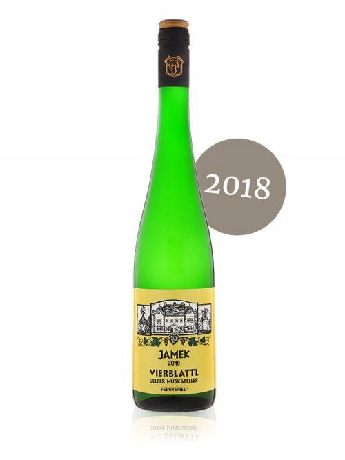Vierblattl, Gelber Muskateller Federspiel® 2018