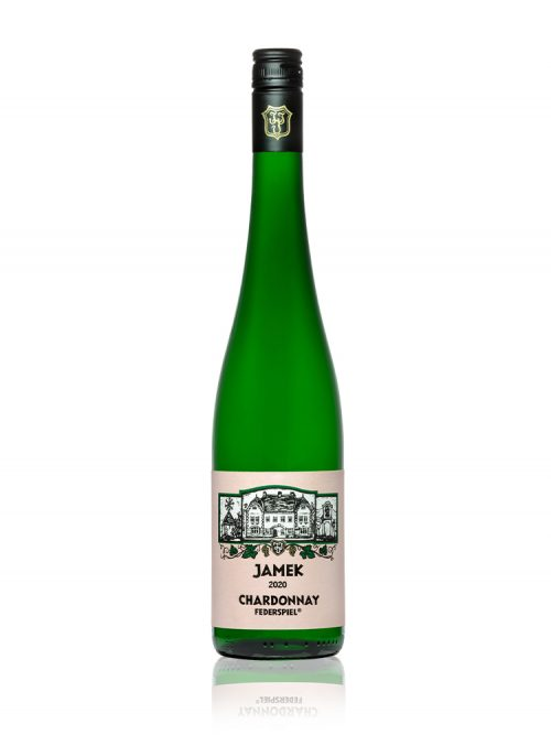 Flasche JAMEK Jochinger Chardonnay Federspiel