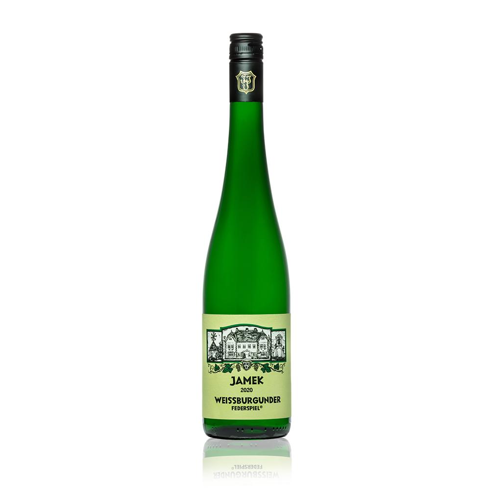 Flasche JAMEK Wösendorfer Weißburgunder Federspiel 2020
